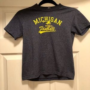 Other - Youth University of Michigan Football T-Shirt